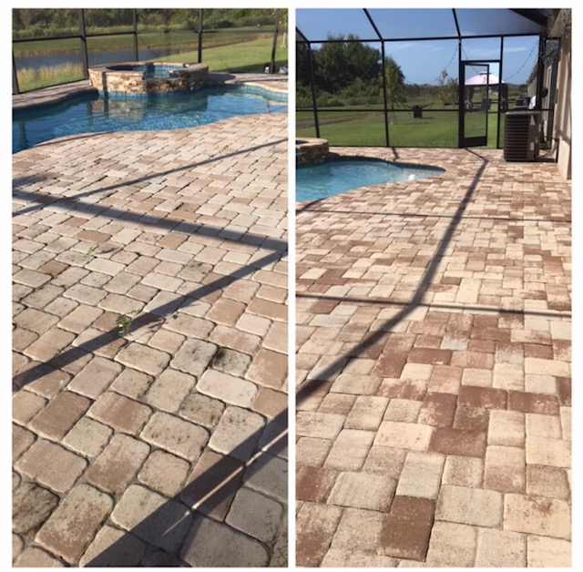pool paver sealing